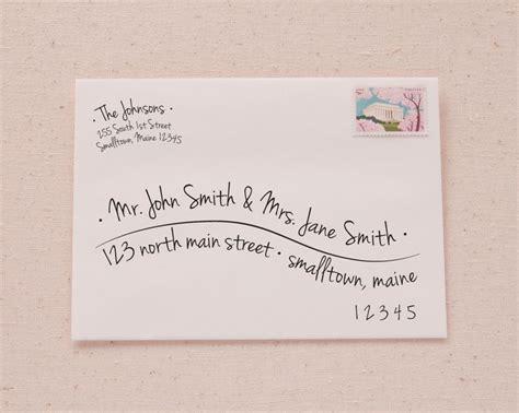 Envelope Address Template 25 Best Address An Envelope Ideas On