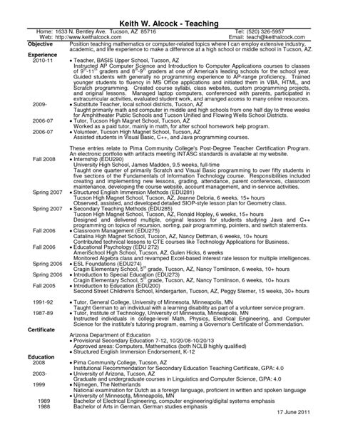 sle math resume correctional physician sle