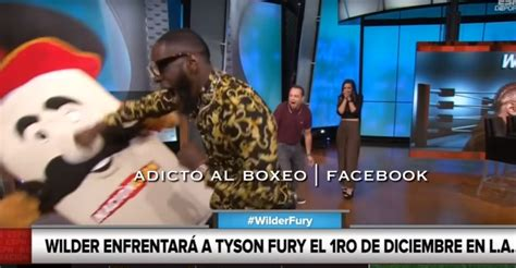 false reports  deontay wilder broke  espn mascot