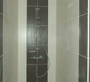 carrelage adhesif mural salle de bain wasuk With carrelage adhesif salle de bain avec leda salle de bain