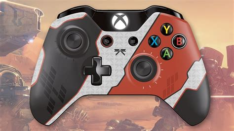 xbox 360 controller with fan destiny themed xbox one controllers fan made youtube