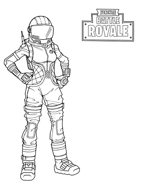 skull trooper fortnite coloring pages  coloring pages