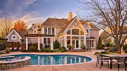 Mansion Estate Residential Pool Villa Area Building