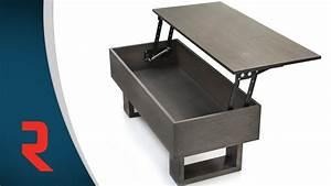 Table Pour Tv : m canisme pour table plateau relevable youtube ~ Teatrodelosmanantiales.com Idées de Décoration