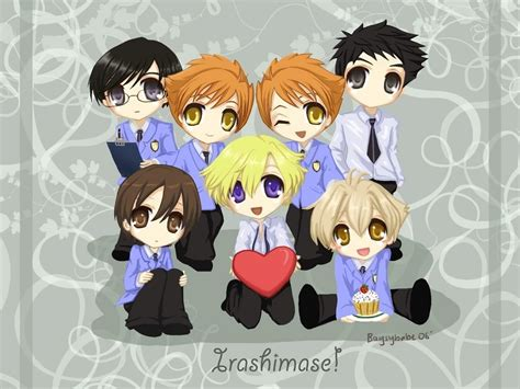 Sammilover9752 Images Chibi Host Club! Hd Wallpaper And