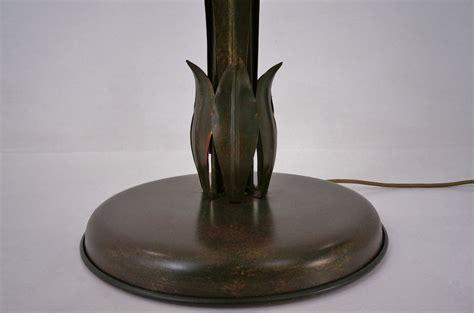 antique floor ls italian tole floor l gilt metal by ls italy 1970 s