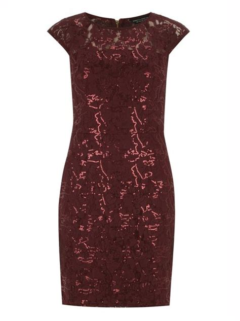 dorothy perkins wine dress 163 31 50 luxe for less glam