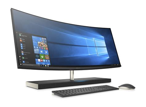 Pc Desk by Hp Envy 34 B100nl Desktop All In One Con Schermo Curvo