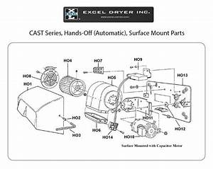 Excel - Ho 14 Blower Housing - Capacitance Sensor