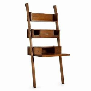 Etagere Echelle Bureau : tag re chelle tali meuble de bureau en bois exotique ~ Teatrodelosmanantiales.com Idées de Décoration