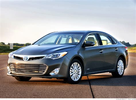 cars toyota avalon really hybrid base