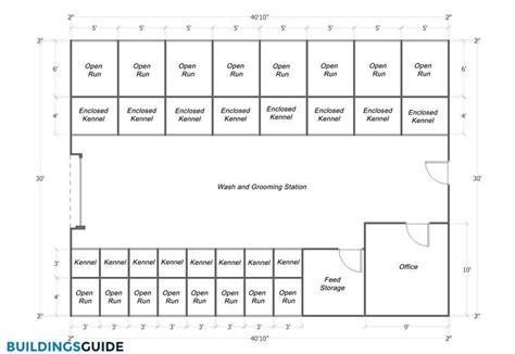dog kennel buildings design pricing plans buildingsguide