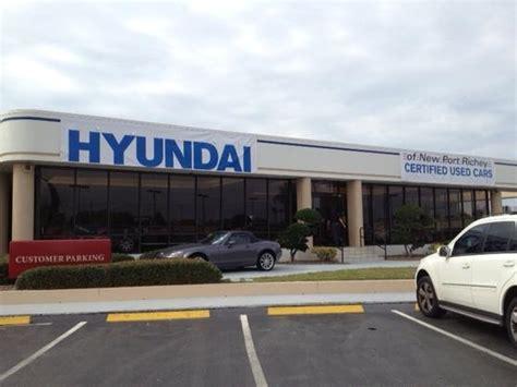 Hyundai Used Cars New Richey by Hyundai Of New Richey In New Richey Fl Kelley