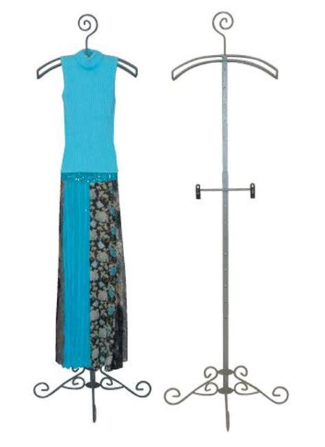 decorative metal garment floor rack display garment rack decorative clothing rack rolling