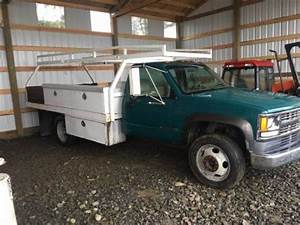 1994 Chevy 3500 Hd Flatbed Utility Truck For Sale  Gervais Or