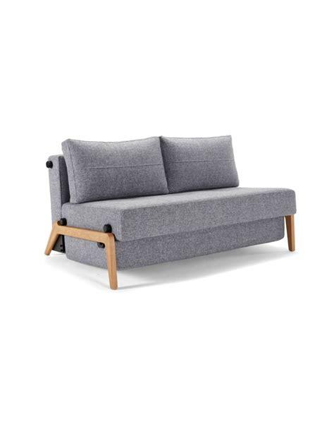 innovation futon innovation cubed wood 140 sofa bed contemporary light