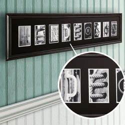 industrial alphabet letter framed print 7 to 10 letters With architectural alphabet framed print 7 10 letters