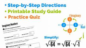 How To Use Imaginary Numbers