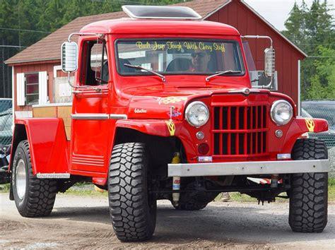 custom willys jeep truck model  trucks classic trucks jeep