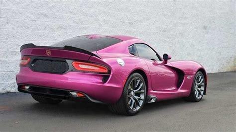 dodge viper  factory pink  sale