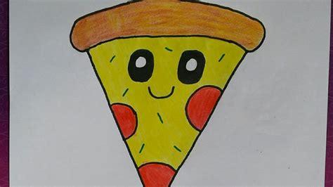 Desenhando Pizza Kawaii Youtube