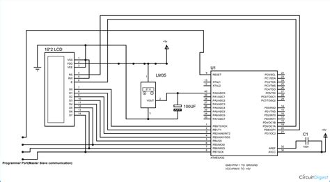 Temperature Measurement Using Avr Microcontroller