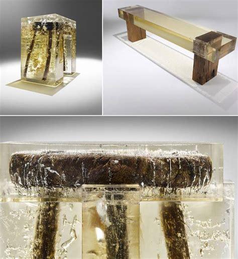 les decoration de cuisine meubles nucleo l 39 de mélanger bois et résine 10xl