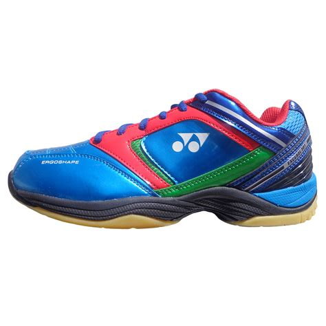 yonex excerol  red  blue badminton shoes buy yonex