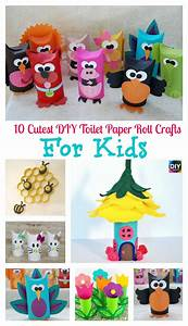 10 Cutest DIY Toilet Paper Roll Crafts - For Kids