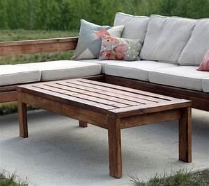 Ana White 2x4 Outdoor Coffee Table - DIY Projects
