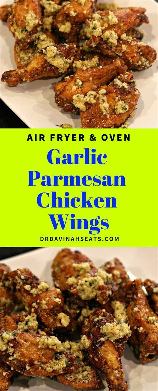 recipe air fryer wings chicken garlic parmesan recipes wing oven drdavinahseats beginners keto paleo