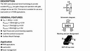 Mosfet Smd Tranisitor Ic Chips 3401