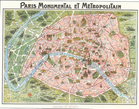 map  paris circa  victorian paris