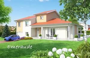 Type De Sol Maison : emeraude mod les avec sous sol nos mod les de maisons accueil bati est ~ Melissatoandfro.com Idées de Décoration