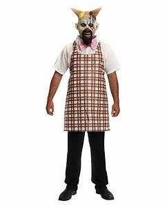 Halloween Kostüm Herren Ideen : horror clown kost m eismann mit latex maske horror ~ Lizthompson.info Haus und Dekorationen