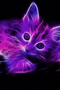Download Neon Kitten LIve Wallpaper for Android Appszoom