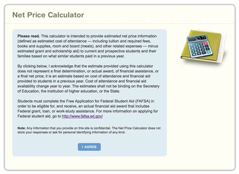 Net Price Calculator Template by Aidcalc Using A Net Price Calculator