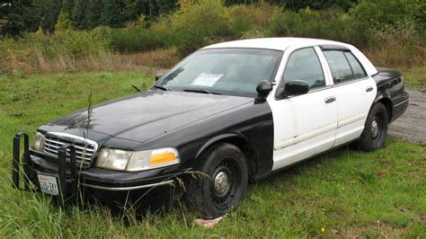spotted  crown vic police car  sale ford muscle