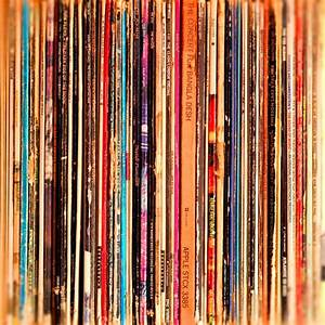 Whimsical photography vintage records vinyl records LP