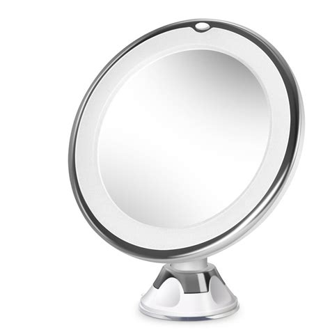 Lighted Magnifying Makeup Mirror by Beautural 10x Magnifying Lighted Vanity Makeup Mirror With