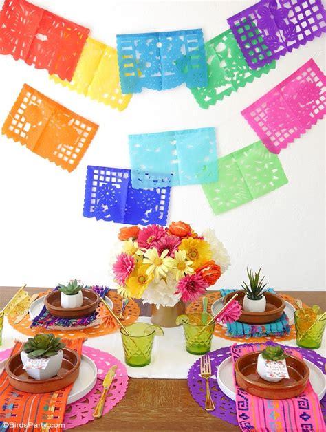 A Colorful Cinco De Mayo Mexican Fiesta  Party Ideas
