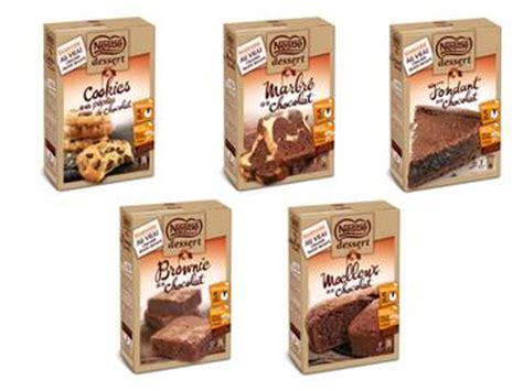 moelleux au chocolat nestle dessert nestl 233 dessert revient sur les pr 233 parations pour g 226 teaux les produits lineaires le magazine