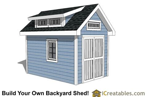 8x12 shed plans 8x12 shed plans buy easy to build modern shed designs