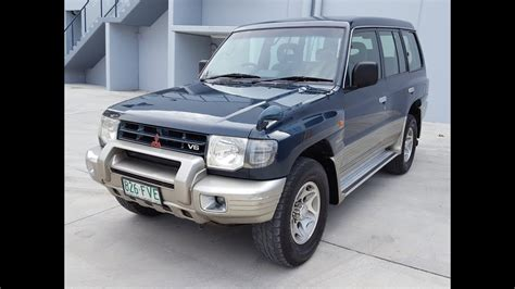 sold  mitsubishi pajero review  lwb automatic