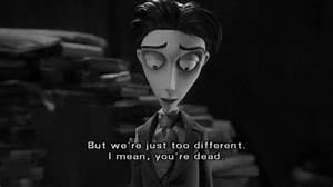 black and white... Corpse Bride Movie Quotes
