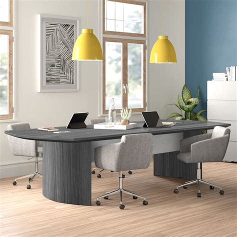 Plus, you'll receive alerts about sales, coupon codes, and more in your inbox. Zipcode Design™ Medina Curved End Conference Table & Reviews