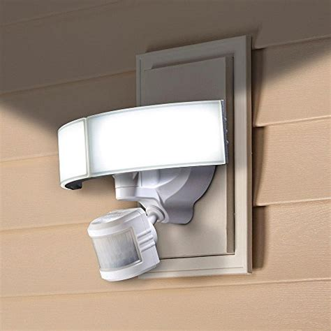 defiant led security light defiant outdoor led bluetooth 270 degree motion security