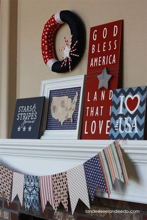 Decorating Ideas For July 4th by Fourth Of July Decor Ideas