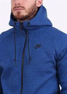 nike tech fleece windrunner royal blue