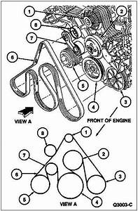 2006 Buick Lucerne Serpentine Belt Diagram